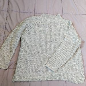Chunky Mockneck Knit Sweater - Perfect Condition